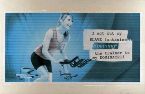 oh so thats why they love spin class
